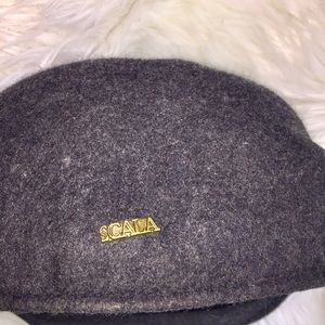 Scala Accessories - Scala 100% Wool Cap, Hat, Large